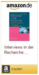 Andreas Baumert: Interviews in der Recherche