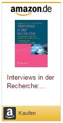 Andreas Baumert: Interviews in der Recherche