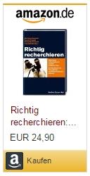 Matthias Brendel: Richtig recherchieren: Wie Profis Informationen suchen und besorgen.