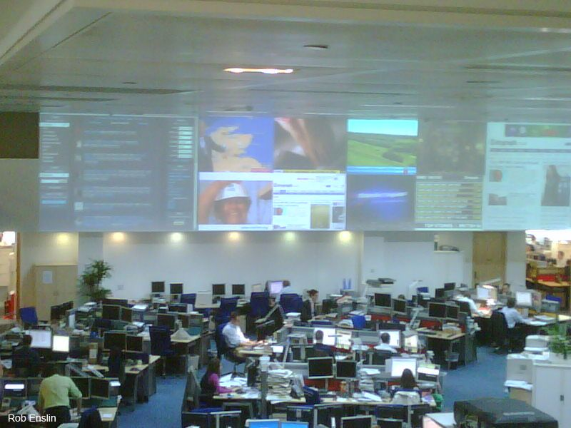 Der Newsroom vereint Kostenersparnis und Zentralisierung